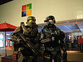 Halo Anniversary LA Game Launch - Spartan and Master Chief (6381866931).jpg