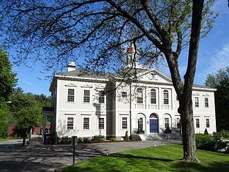 Hamilton, Massachusetts - Hamilton Town Hall Hamilton, Massachusetts
