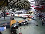 Hangar 5, Museo del Aire, Madrid, España, 2016 09.jpg