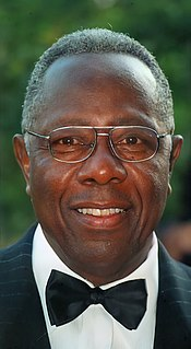 Hank Aaron American baseball player