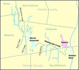 Hannacrois Creek - Image: Hannacrois Creek