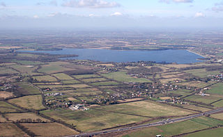 Hanningfield Reservoir lake in the United Kingdom