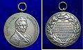 Hanover Gabelsberger Shorthand Silver Award Medal.jpg
