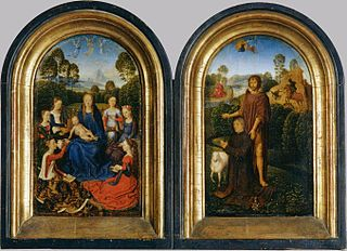 Diptych of Jan du Cellier