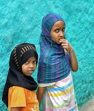 Harari people - Harari children