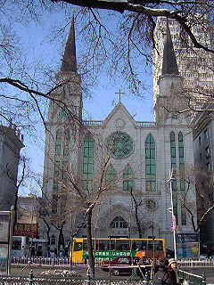 Sacred Heart of Jesus Cathedral, Harbin church building in Harbin, China
