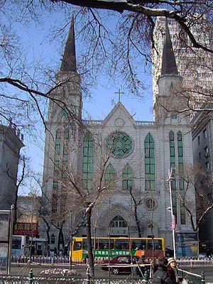 Sacred Heart of Jesus Cathedral, Harbin - Sacred Heart Cathedral of Harbin (re-built in 2004)