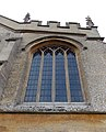 Harlaxton Ss Mary and Peter - exterior Chancel North Chapel east window.jpg