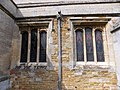 Harlaxton Ss Mary and Peter - exterior South Aisle east windows.jpg