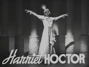 Harriet Hoctor - Harriet Hoctor as herself from the trailer for The Great Ziegfeld (1936)