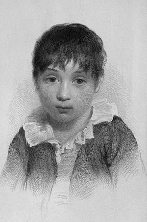 Hartley Coleridge - Hartley at the age of 10.