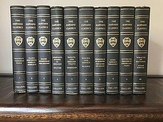 Harvard Classics - Image: Harvard Classics