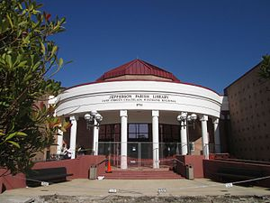 Jefferson Parish Library - Jane O'Brein Chatelein Westbank Regional Library in Harvey