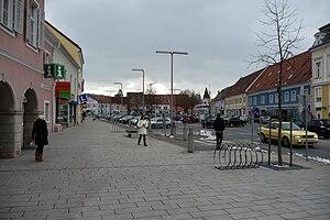 Der Hauptplatz von Feldbach
