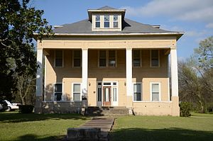 National Register of Historic Places listings in Little River County, Arkansas - Image: Hawkins House, Foreman, AR
