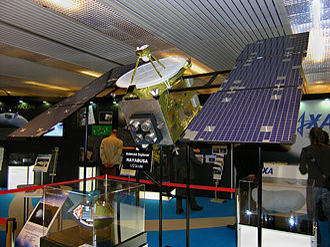 Hayabusa - The half-scale model of Hayabusa at the IAC in 2010