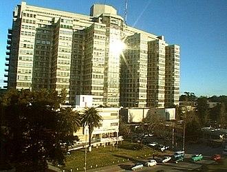 "Hospital de Clínicas ""Dr. Manuel Quintela"" - Hospital de Clínicas, front view"