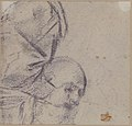 Head of a Bearded Man Looking to Upper Right (recto); Head of an Old Man and a Drapery Study (verso) MET 1979.24 VERSO.jpg