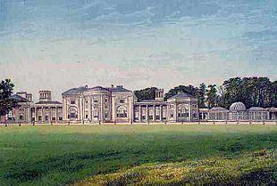 Quadro raffigurante Heaton Hall (1880)