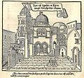 Hec est dispositio et figura templi dominici sepulchri ab extra - Breydenbach Bernhard Von - 1486.jpg