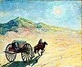 Heinrich Vogeler Mondnacht in der usbekischen Wüste.jpg