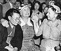 Helen Keller visit to Japan in 1955 01.jpg