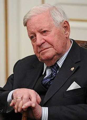 Helmut Schmidt - Schmidt in December 2013