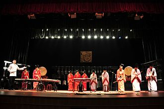 Henan Museum - Image: Henan Museum traditional performance pic 4
