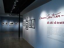Mostra di Cartier-Bresson a Milano nel 2007.