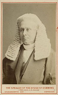Henry Brand, 1st Viscount Hampden British Liberal politician, Speaker of the House of Commons