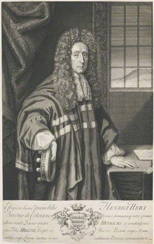 Henry Hare, 2nd Baron Coleraine - Image: Henry Hare Faithorne Vertue
