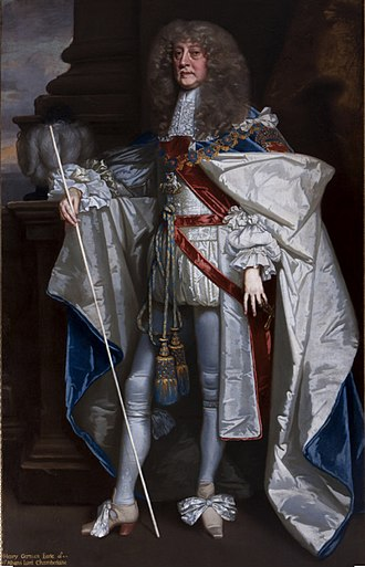 Henry Jermyn, 1st Earl of St Albans - The Earl of St Albans, from a portrait by Lely