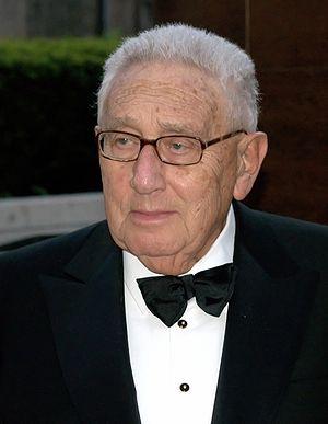 Henry Kissinger - Image: Henry Kissinger Shankbone Metropolitan Opera 2009