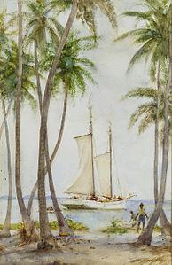 Henry Scott Tuke - Tobacco Caye. Brit. Honduras.jpg