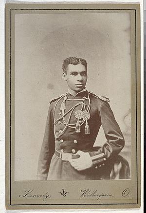 Henry Ossian Flipper - Photograph of Lt. Henry O. Flipper, circa 1877