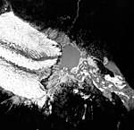 Herbert Glacier, terminus of valley glacier and braided river, August 22, 1965 (GLACIERS 6352).jpg
