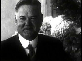 Herbert Hoover video montage