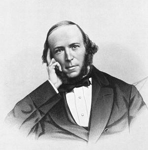 Herbert Spencer - As a young man