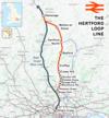 100px hertford loop line