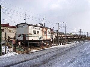 Higashi-Kunebetsu Station - Higashi-Kunebetsu Station in February 2009