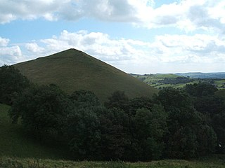 High Wheeldon mountain in United Kingdom
