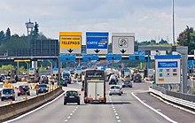Sistemi Telepass e Viacard sull'Autostrada A9, Casello di Como Grandate