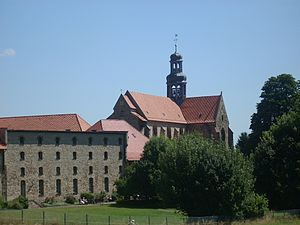 Marienrode Priory - View of the priory.
