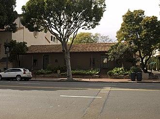 California Historical Landmarks in Santa Barbara County, California - Image: Hill Carrillo Adobe