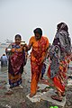 Hindu Devotees Returning After Holy Dip In Ganga - Makar Sankranti Observance - Baje Kadamtala Ghat - Kolkata 2018-01-14 6822.JPG