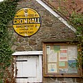 Historic AA road sign for Cromhall village - geograph.org.uk - 1577597.jpg