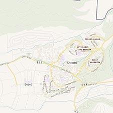 Historische kaartserie voor het gebied van al-Bassa (modern) .jpg