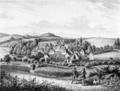 Historische Ansicht von Hainewalde um 1850 - Album der Rittergüter und Schlösser im Königreiche Sachsen.png