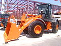 Hitachi ZW150 wheel loader at Construct Expo Utilaje 2010.JPG