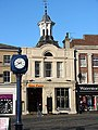 Hitchin Town Clock and Corn Exchange - geograph.org.uk - 620694.jpg